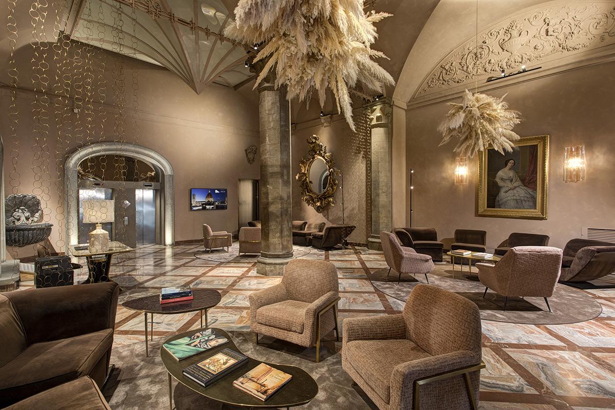 Fotografare gli interni di un hotel - hall